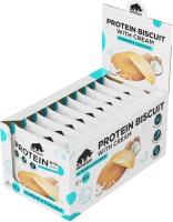 Протеиновое печенье Prime Kraft Primebar Protein Biscuit (10x40г, кокос и миндаль) -