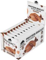 Протеиновое печенье Prime Kraft Primebar Protein Biscuit (10x40г, шоколад) -