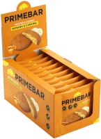 Протеиновое печенье Prime Kraft Primebar (10x35г, банан и карамель) -