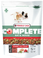 Корм для грызунов Versele-Laga Rat & Mouse Complete для крыс и мышей / 461298 (500г) -