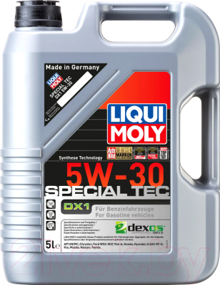 Моторное масло Liqui Moly Special Tec DX1 5W30 / 20969 (5л)