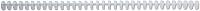 Пружины для переплета GBC Acco Ibiclick 8мм / 387302E (50шт, бесцветный/матовый) -
