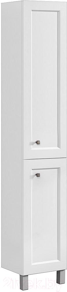 Купить Шкаф для ванной Belux, Болонья П35 (18, белый матовый), Беларусь