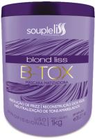 Крем для выпрямления волос Soupleliss B-tox Blond Liss Антижелтый (1л) -
