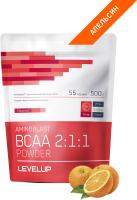 Аминокислоты LevelUp Aminoblast BCAA Powder / LU155 (500г, апельсин) -