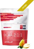 Аминокислоты LevelUp Aminoblast BCAA Powder / LU84 (500г, груша) -