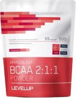 Аминокислоты LevelUp Aminoblast BCAA Powder / LU44 (500г, без вкуса) -