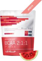 Аминокислоты LevelUp Aminoblast BCAA Powder / LU313 (500г, арбуз) -