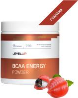Аминокислоты LevelUp BCAA Energy / LU48 (250г, гуарана) -