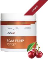 Аминокислоты LevelUp BCAA Pump / LU49 (250г, вишня) -