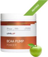 Аминокислоты LevelUp BCAA Pump / LU98 (250г, яблоко) -