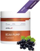 Аминокислоты LevelUp BCAA Pump / LU97 (250г, черная смородина) -
