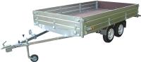 Прицеп для автомобиля Вектор ЛАВ 81013С 4.0 (4000x2000x400, двухосный, высокий борт) -
