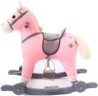 Качалка-каталка Amarobaby Prime Лошадка / AMARO-28P-R0 (розовый) -