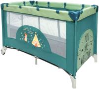 Кровать-манеж Amarobaby Multiform Dream Fox (оливковый) -