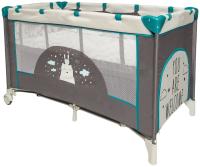 Кровать-манеж Amarobaby Multiform Hello Bear (серый) -
