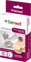 Пластырь медицинский Bimed С гемостатической подушечкой (7х2см, 10шт) -
