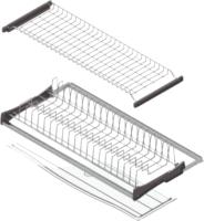 Сушилка для посуды встраиваемая Starax S-5161-SS (с алюминиевой рамкой/нержавеющая сталь) -