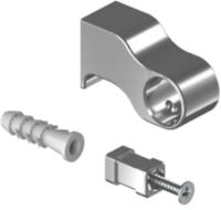 Крепежная фурнитура для рейлинга Starax S-4085-C (хром) -
