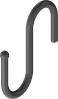 Крючок для рейлинга Starax S-4091-B (черный) -