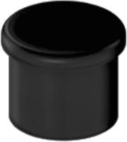 Крепежная фурнитура для рейлинга Starax S-4081-B (черный) -