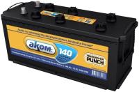 Автомобильный аккумулятор AKOM 6СТ-140L 4 950A (140 А/ч) -