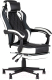 Кресло геймерское Stool Group Virage / Burgendy Ykc (черный/белый) -