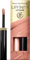 Набор декоративной косметики Max Factor Помада Lipfinity Lip Colour+Блеск Moisturising Top Coat тон 006 -