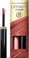 Набор декоративной косметики Max Factor Lipfinity Помада Lip Colour+Блеск Moisturising Top Coat тон 070 -