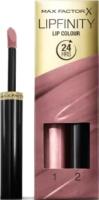 Набор декоративной косметики Max Factor Lipfinity Помада Lip Colour+Блеск Moisturising Top Coat тон 310 -