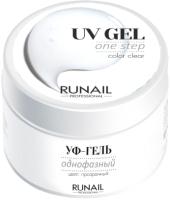 Моделирующий гель для ногтей RuNail Однофазный УФ-гель №3443 (15г) -