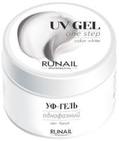 Моделирующий гель для ногтей RuNail Однофазный УФ-гель №3445 (15г) -