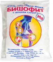 Соль для ванны Saules Sapnis Бишофит с ионами серебра (500г) -
