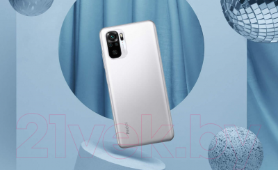 Смартфон Xiaomi Redmi Note 10S 6GB/128GB без NFC (синий океан)