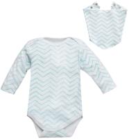 Комплект одежды для новорожденных Amarobaby Soft Hugs Зигзаг / AMARO-ODSH201-ZIM-62 (мятный, р. 62) -