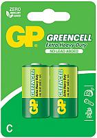 Комплект батареек GP Batteries Greencell R14/C 14G-CR2 (2шт) -