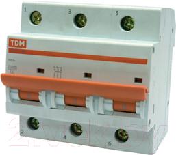 Купить Выключатель автоматический TDM, ВА 47-100 3Р 100А (C) 10кА / SQ0207-0077, Китай