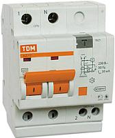 Дифференциальный автомат TDM АД-12-2Р-25А-30мА / SQ0204-0011 -