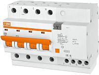 Дифференциальный автомат TDM АД-14-4Р-25А-30мА / SQ0204-0033 -