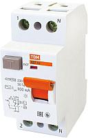Дифференциальный автомат TDM ВД1-63-2Р-40А-30мА / SQ0203-0013 -