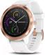 Умные часы Garmin Vivoactive 3 / 010-01769-07 (белый/розовый) -