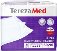 Набор пеленок одноразовых Tereza Med Впитывающие Super 60x90 (30шт) -