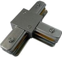 Коннектор для шинопровода JAZZway PTR CT-GR / 5023888 (серый) -