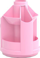 Органайзер настольный Erich Krause Mini Desk Pastel / 51470 (розовый) -