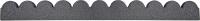 Бордюр садовый Orlix Flexi Curve Scalloped EU5000030-4 (4шт, серый) -