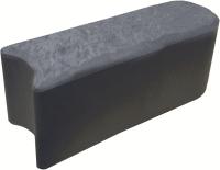 Плитка садовая Orlix Stomp Edge EU5100063-12 (12шт, графит) -