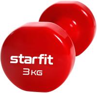 Гантель Starfit Core DB-101 (3кг, красный) -