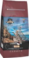Корм для кошек Landor Для взрослых кошек рыба с рисом / 7843128 (10кг) -