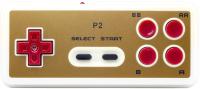 Геймпад Retro Genesis ACSg07 (белый/золото) -