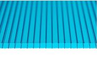 Сотовый поликарбонат КомфортПром Астра 2м 3.8мм (бирюзовый) -